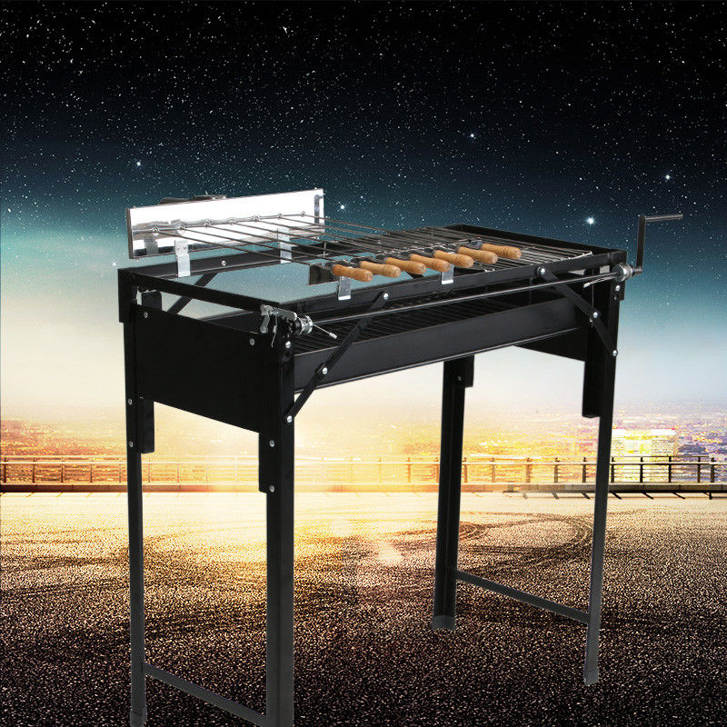 Adjustable Charcoal Bbq Grill V Shape Outdoor Cooking With ODM Service
